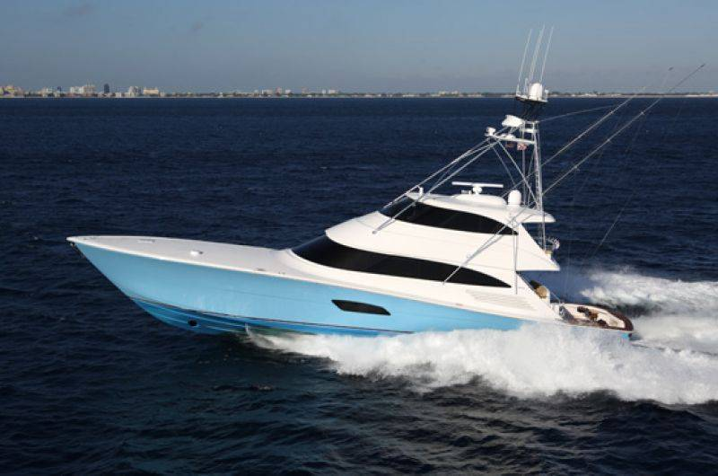 Viking Yachts Viking 92C Open Bridge Convertible