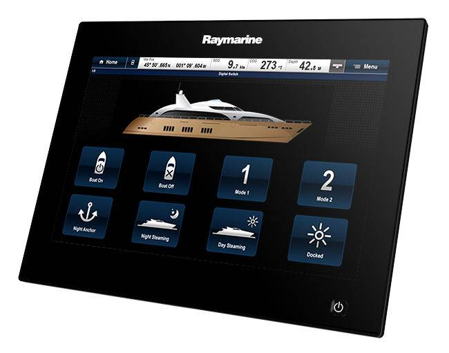 Display gS Series Glass Bridge Raymarine