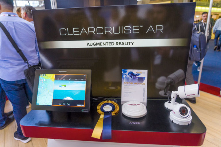 Clear Cruise Augmented Reality DAME AWARDS special mention