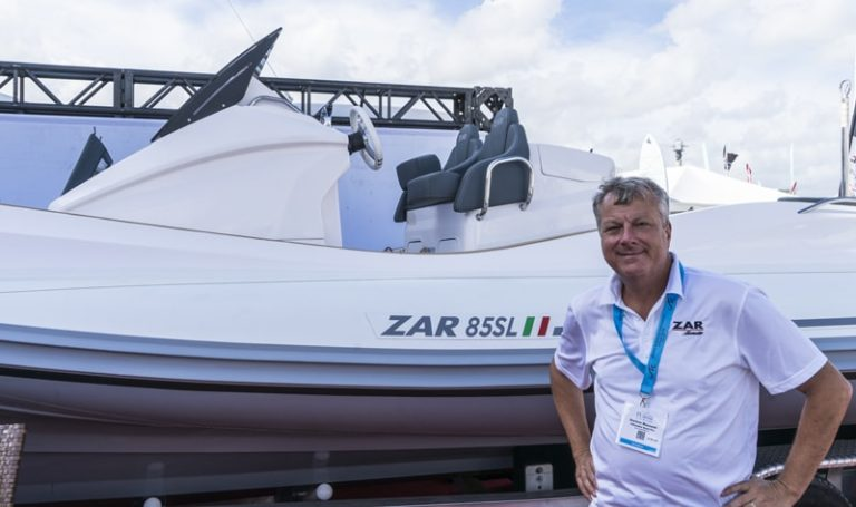 inflatable boat pro zar 85 sl