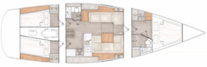 Contest 42CS layouts 2017 3 cabins