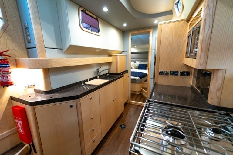 Discovery 54 Galley