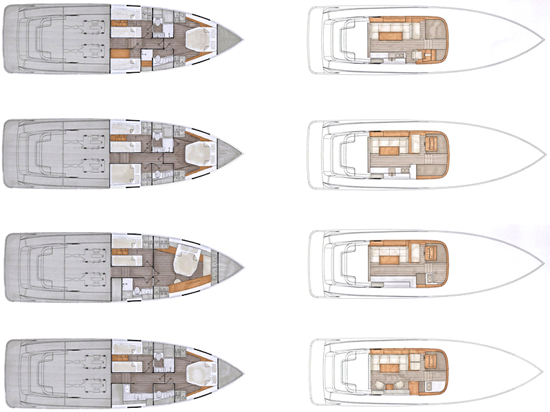 planos Contest Yachts