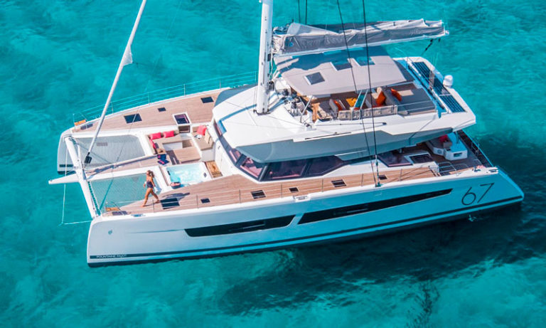 alegria 67 fountaine pajot catamarans
