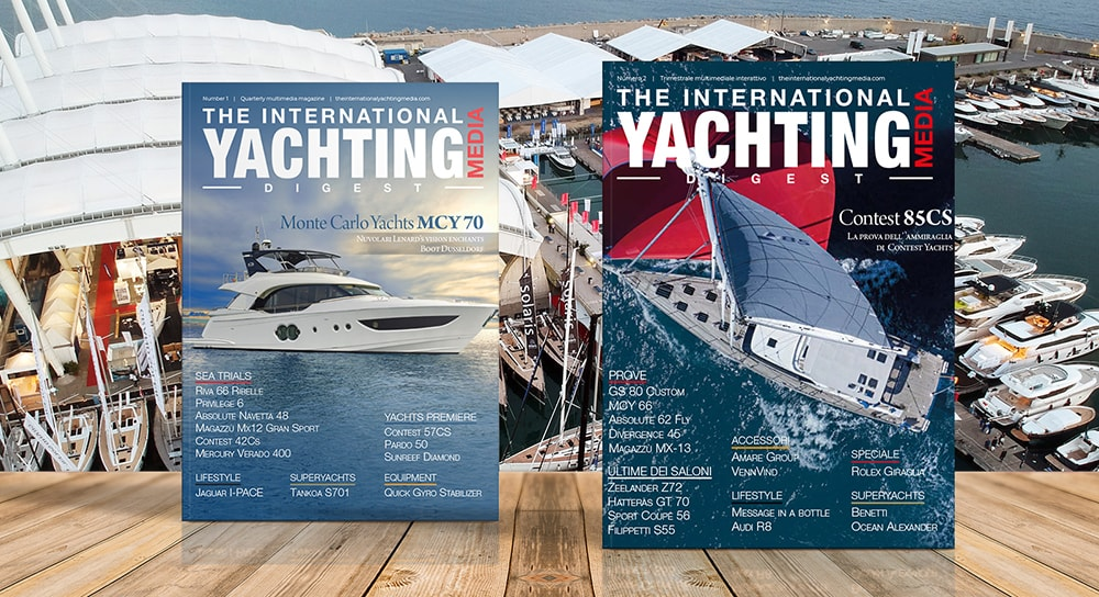 The International Yachting Media Digest junio numero dos
