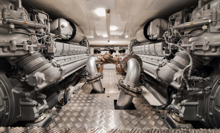 MCY105 Engines room