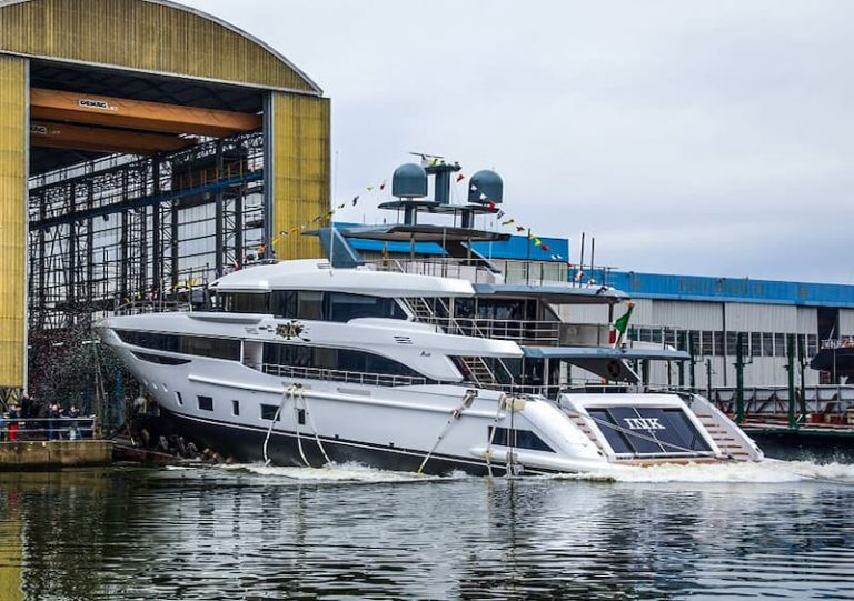 Benetti Diamond 145 ceremony